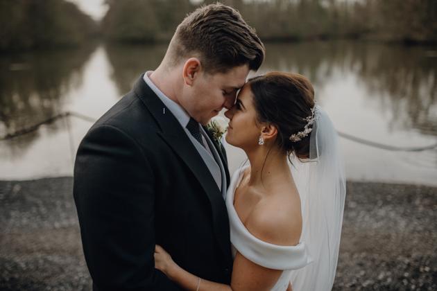WINTER WEDDING LAKESIDE MARQUEE THORNTON MANOR-102.jpg