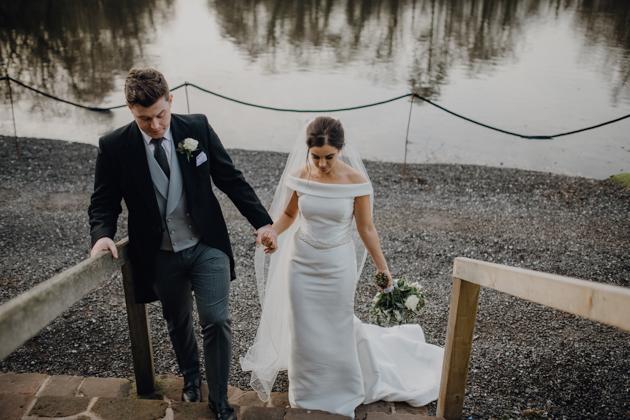 WINTER WEDDING LAKESIDE MARQUEE THORNTON MANOR-105.jpg