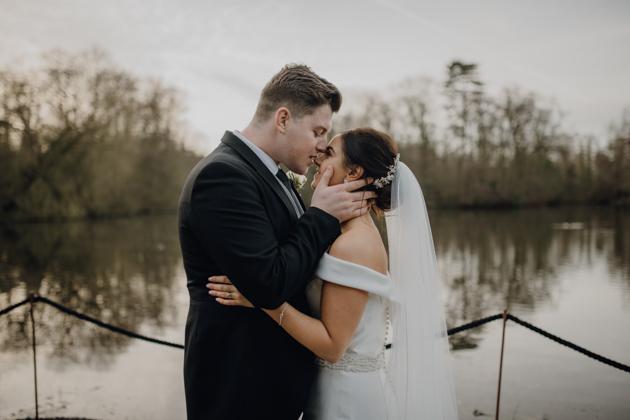 WINTER WEDDING LAKESIDE MARQUEE THORNTON MANOR-120.jpg