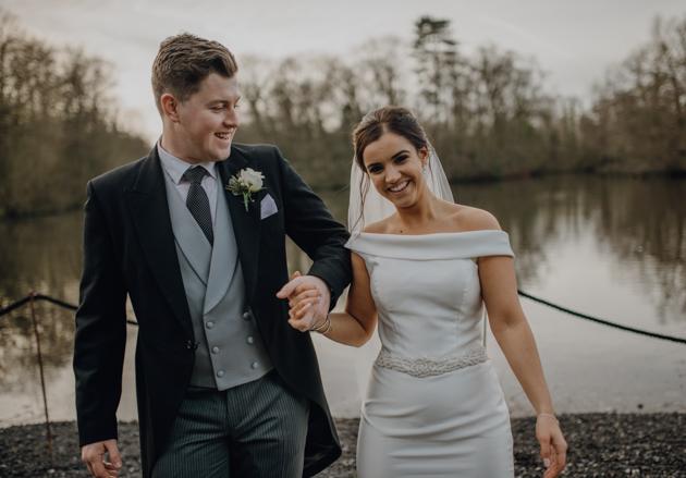 WINTER WEDDING LAKESIDE MARQUEE THORNTON MANOR-125.jpg