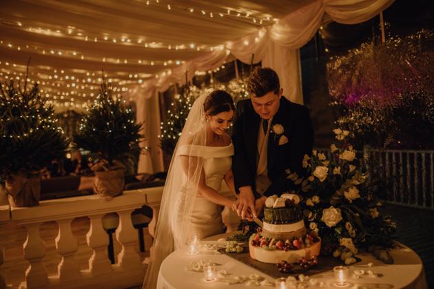 WINTER WEDDING LAKESIDE MARQUEE THORNTON MANOR-157.jpg