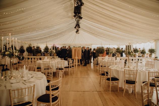 WINTER WEDDING LAKESIDE MARQUEE THORNTON MANOR-175.jpg
