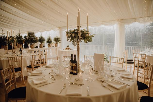 WINTER WEDDING LAKESIDE MARQUEE THORNTON MANOR-176.jpg