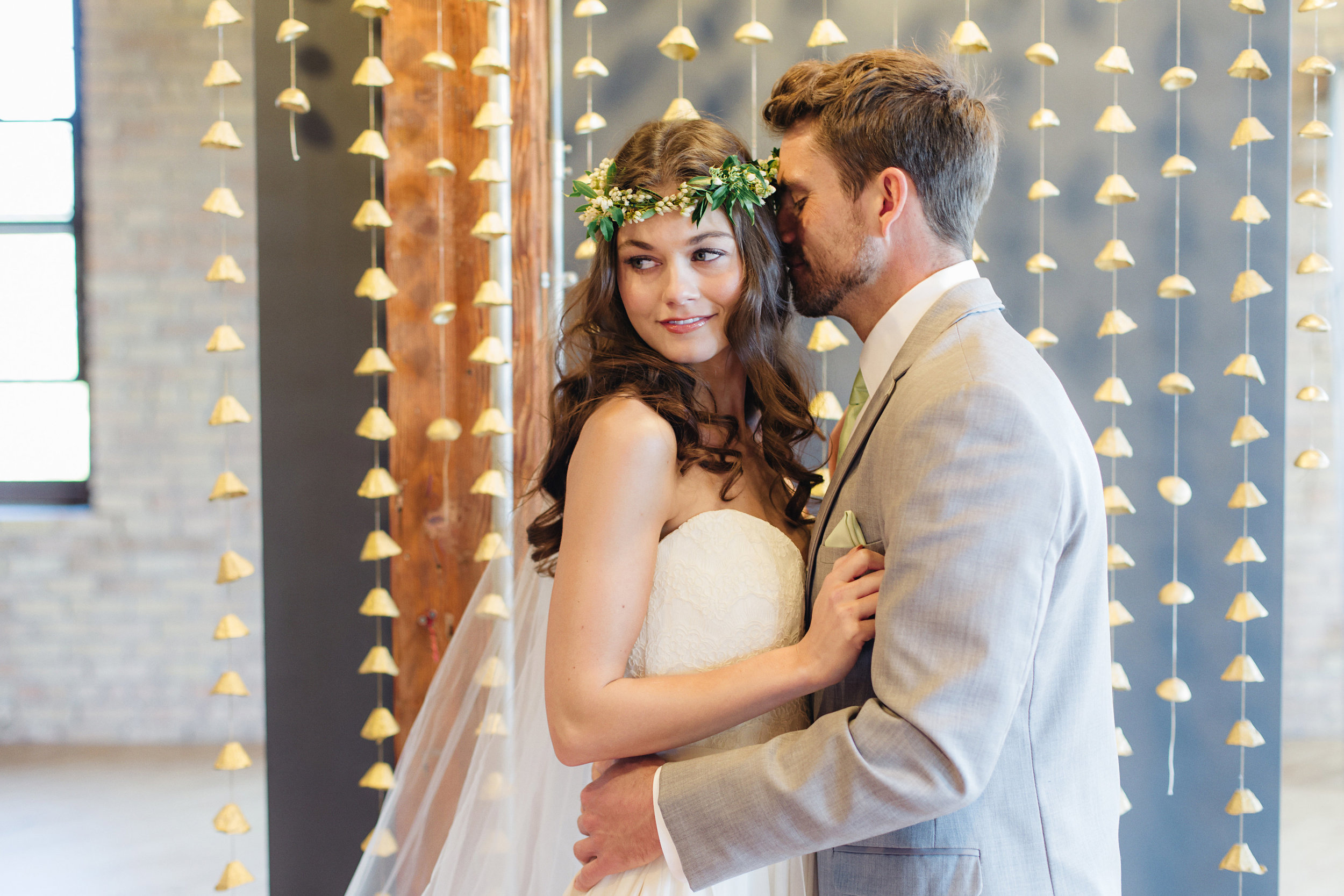 Vendors: Photography: Jody Savage Photography | Videography: Acowsay | Groomswear: Savvy Formalwear | Dress: Natalie by  Truvelle , A and B Bridal Shop | Makeup: Julie Swenson Beauty | Hair: Teanna Moye Artistry | Venue: Solar Arts   Chowgirls | Rentals & Design: On Solid Ground Vintage Rentals | Floral Design: Studio Fleurette | Florals: Fifty Flowers | Cake Topper, Custom Lettering, Escort+Place Cards: Splendid Supply Co. | Cake Stands, Guest Book + Invites: Minted | Food + Cake: Chow Girl Catering