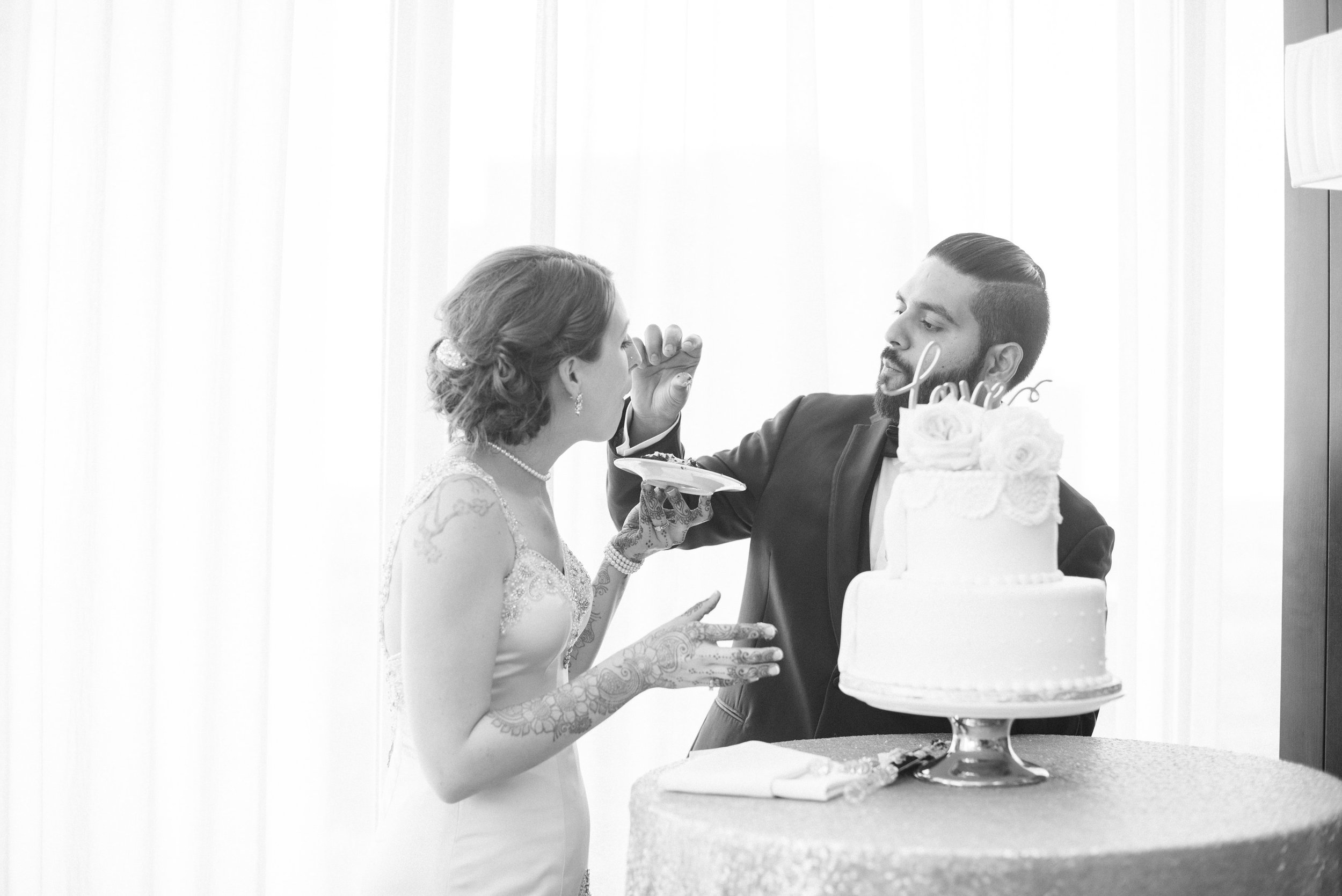 Photography: Kelly Brown Weddings |Planner: The Simply Elegant Group, Kerry  |Venue: Millennium Hotel Mpls |Stationary: Minted |DJ: Instant Request | Florals: Sadie's Floral | Linens/Rentals  Linen Effects & Avant | Hair: 139 Hair by Heidi | Bakery: Queen of Cakes
