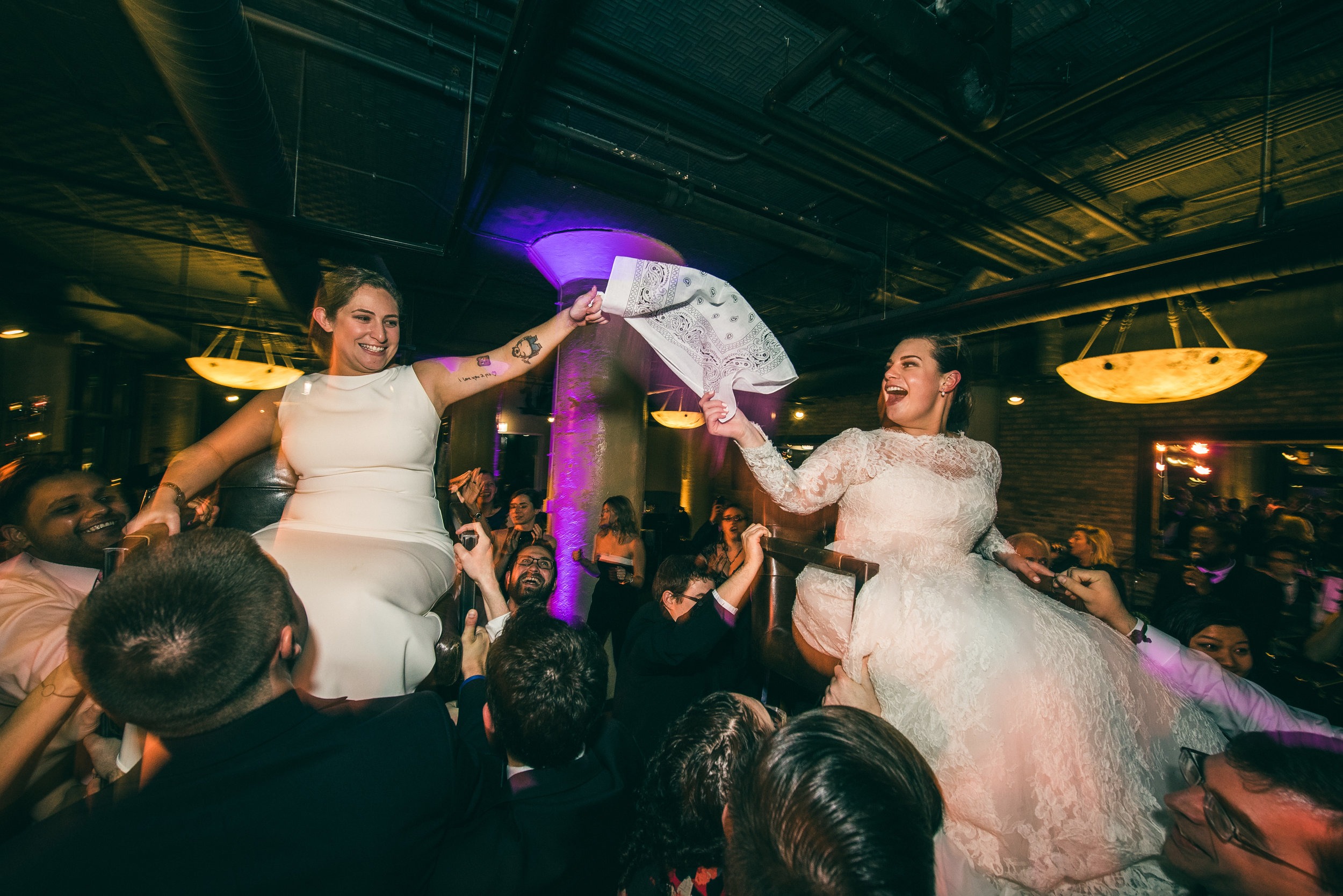 Jewish wedding reception, Jewish chair dance
