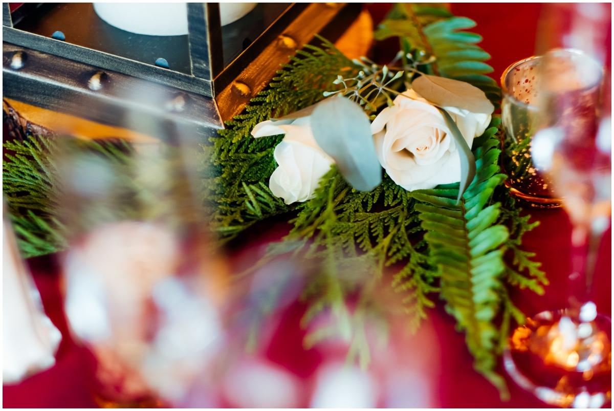 wedding centerpiece details