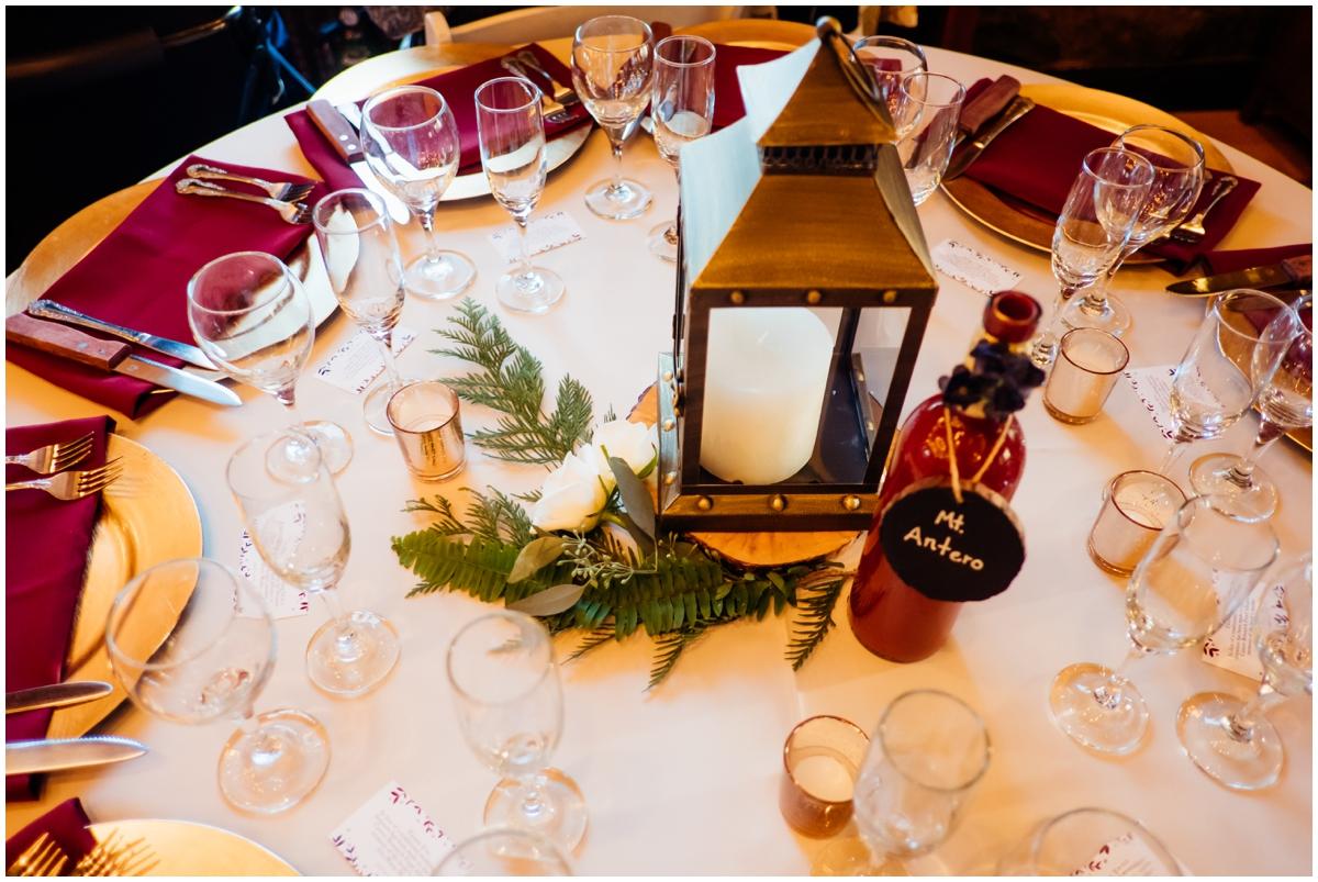 wedding tablescape details