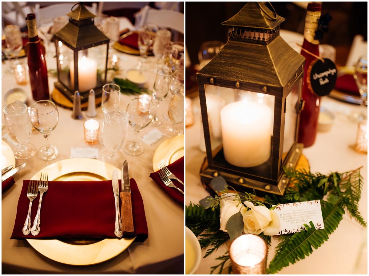 Colorado wedding details