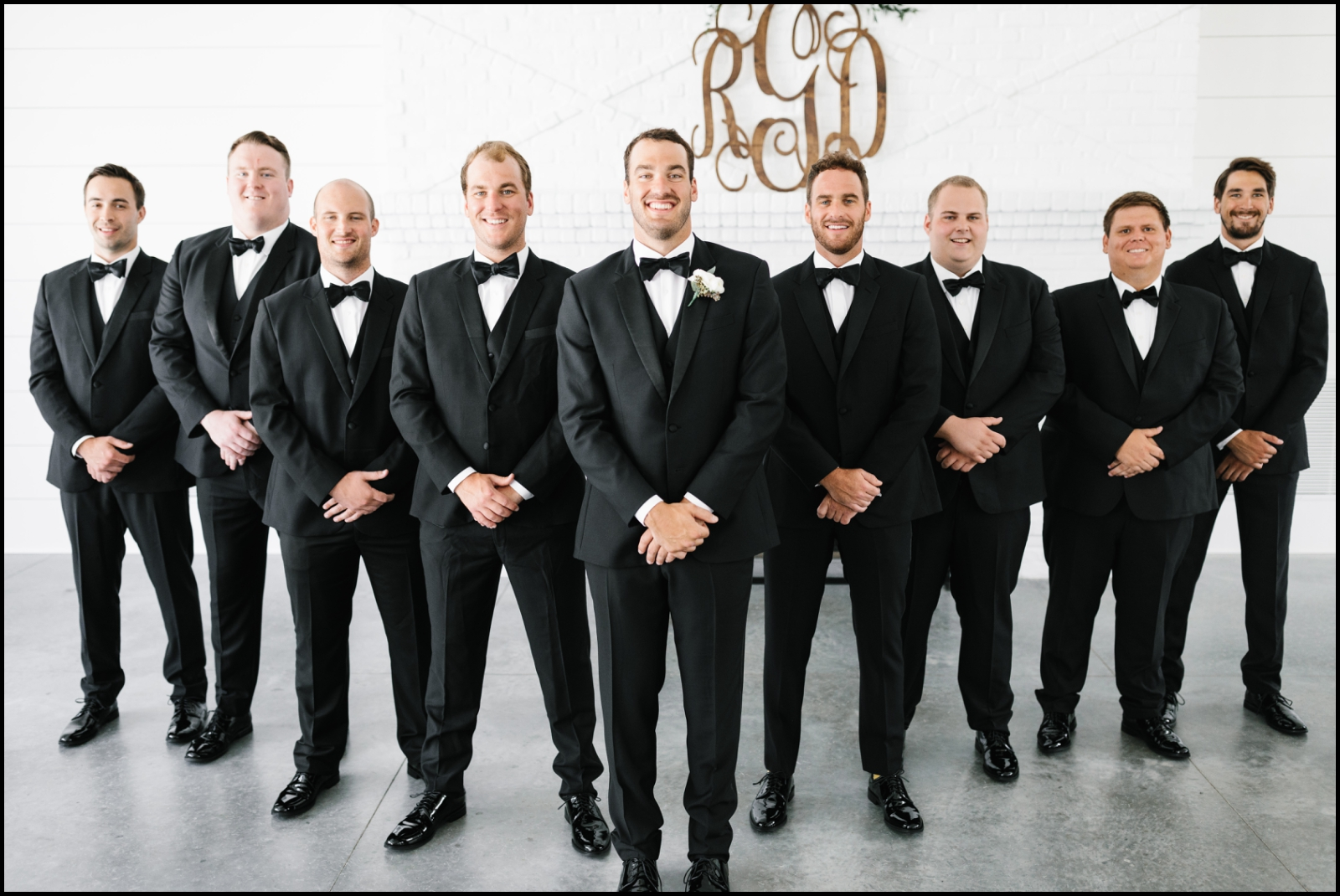 groomsmen before the wedding