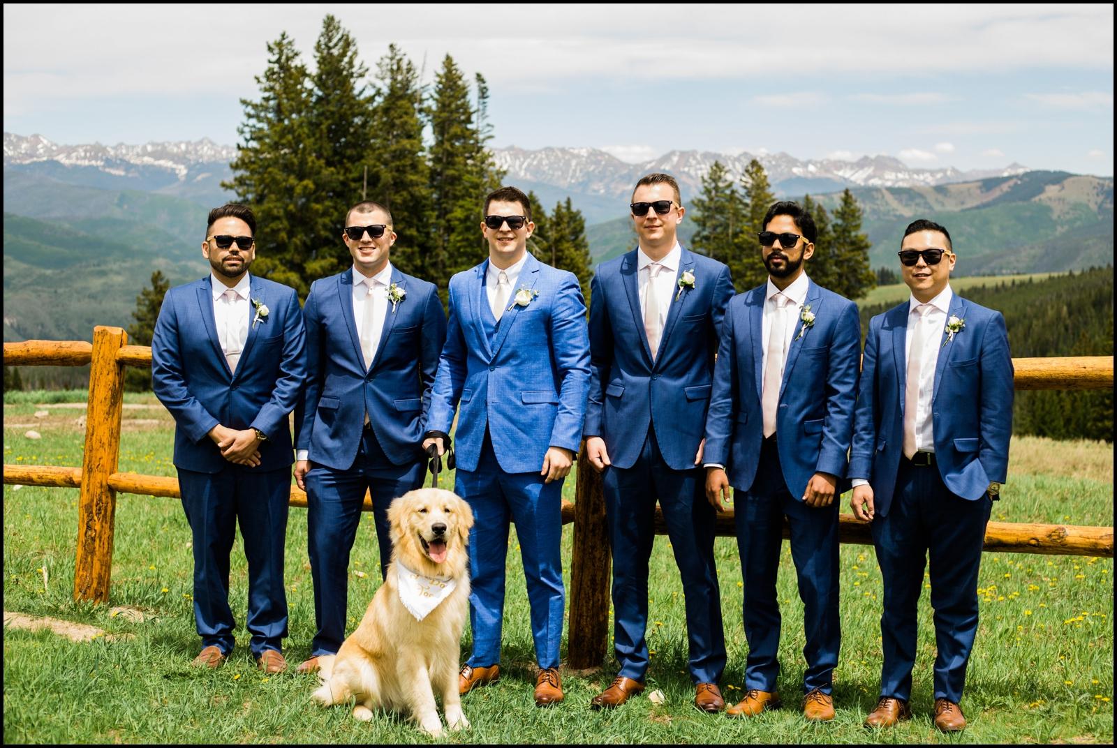 Groomsmen before Denver wedding