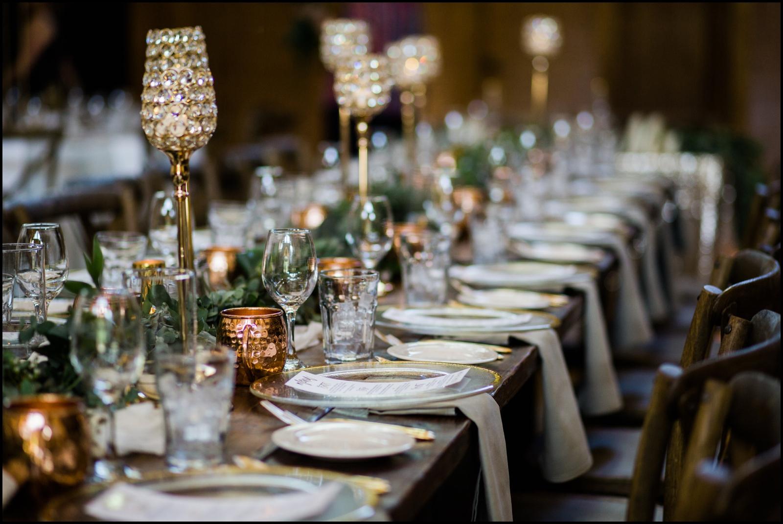 Wedding table set ideas