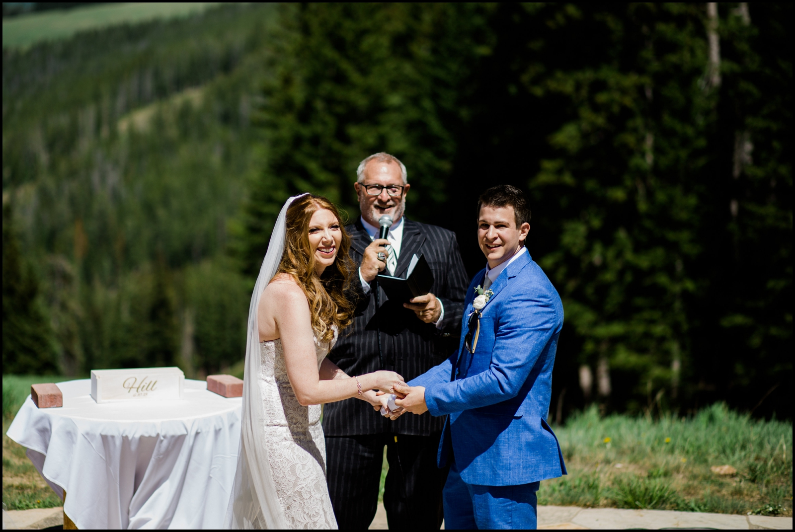 Donovan Pavilion wedding ceremony
