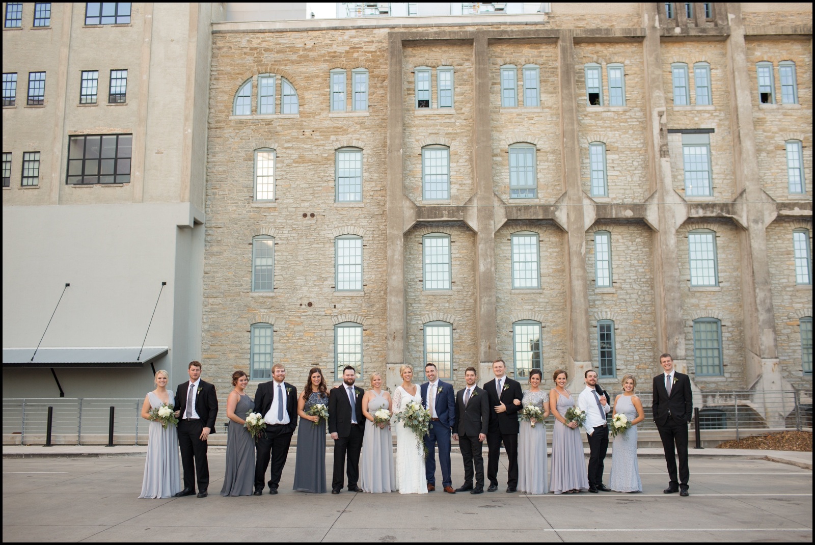 bridal party in minnesota