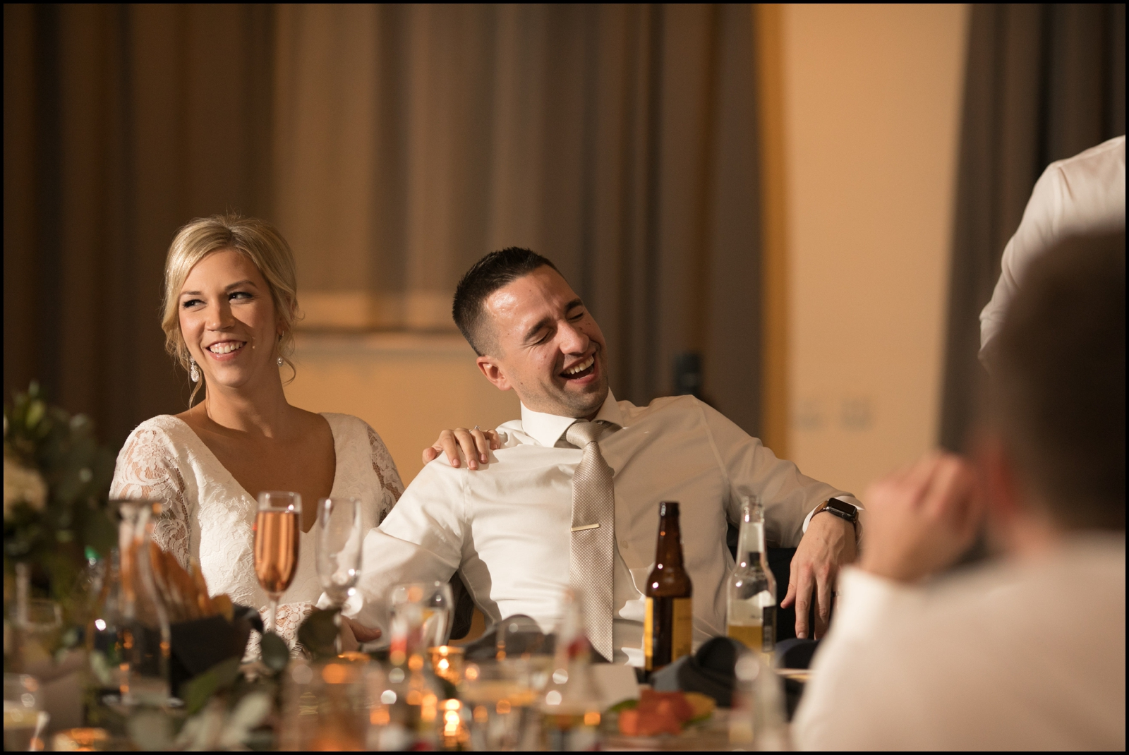 MN wedding reception
