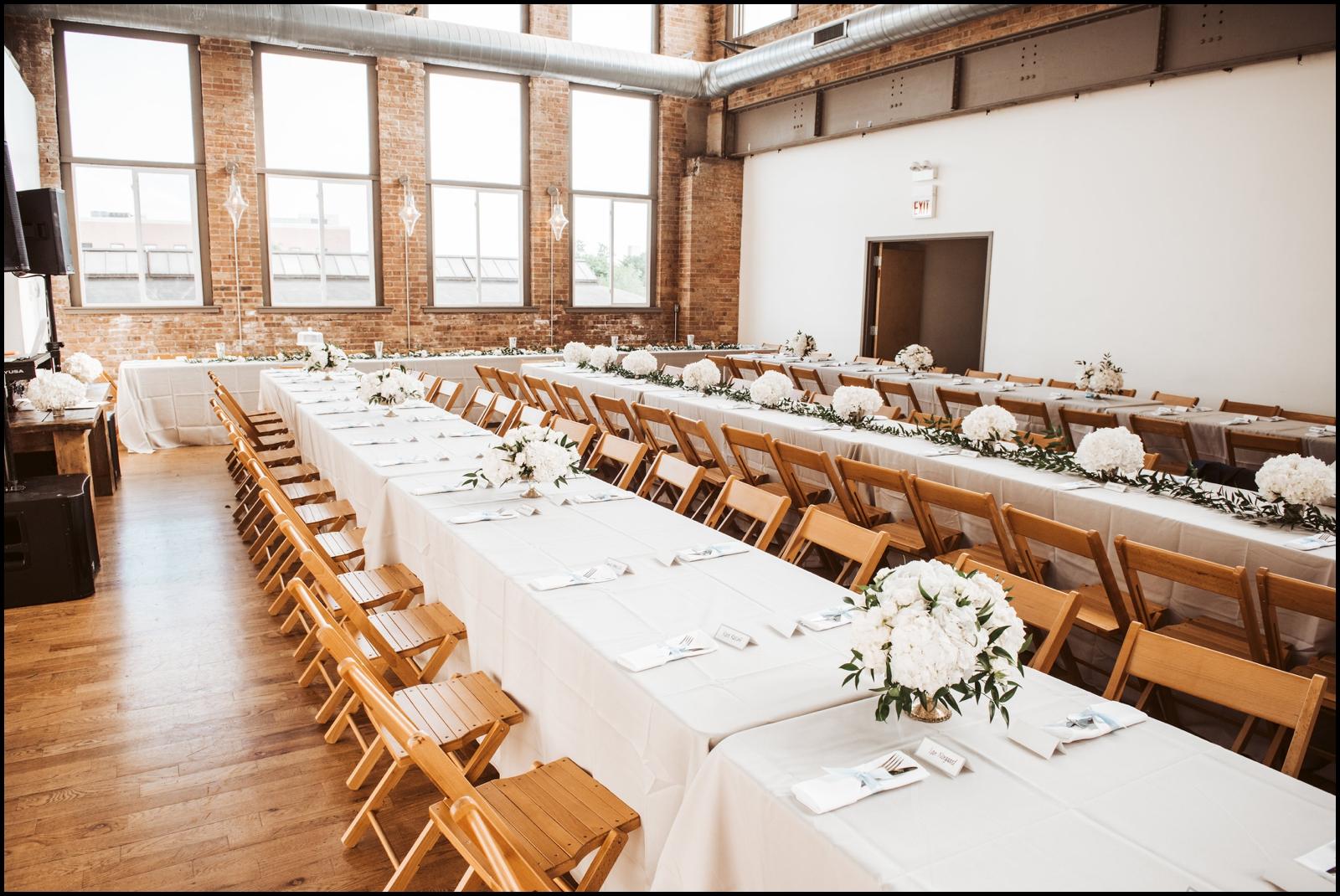 Wedding Reception at the Kitchen Chicago