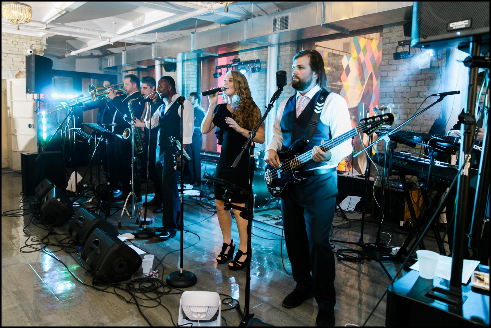 Live band in Mpls wedding