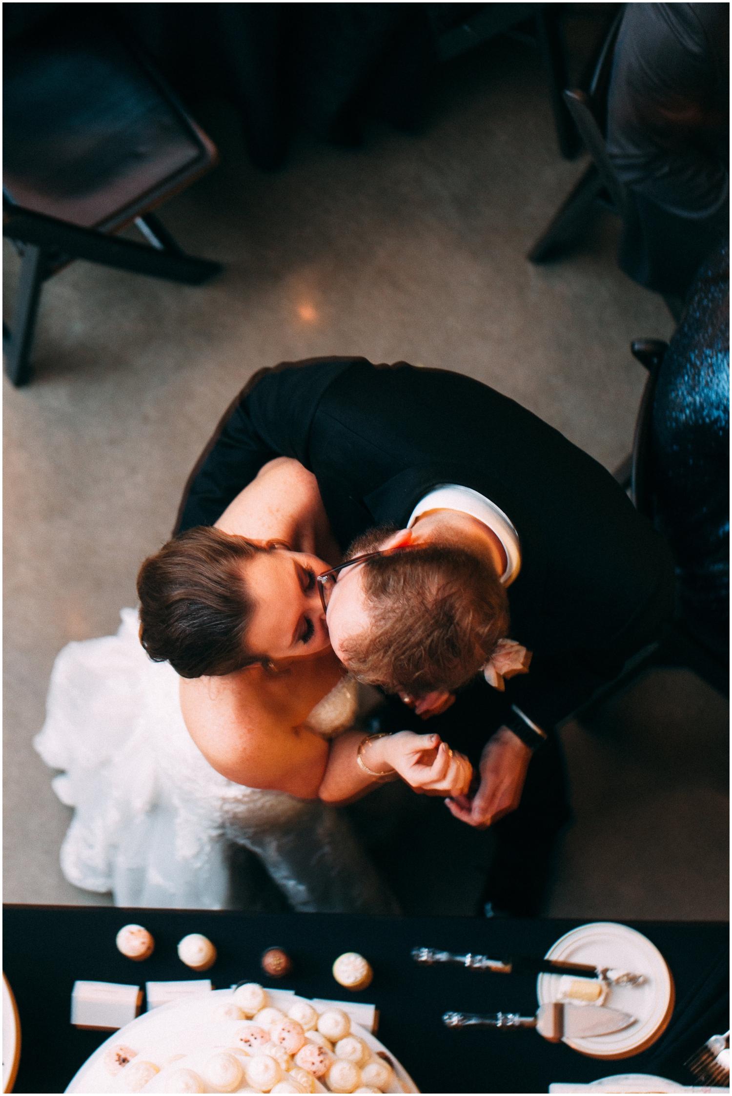 bride and groom wedding in Denver
