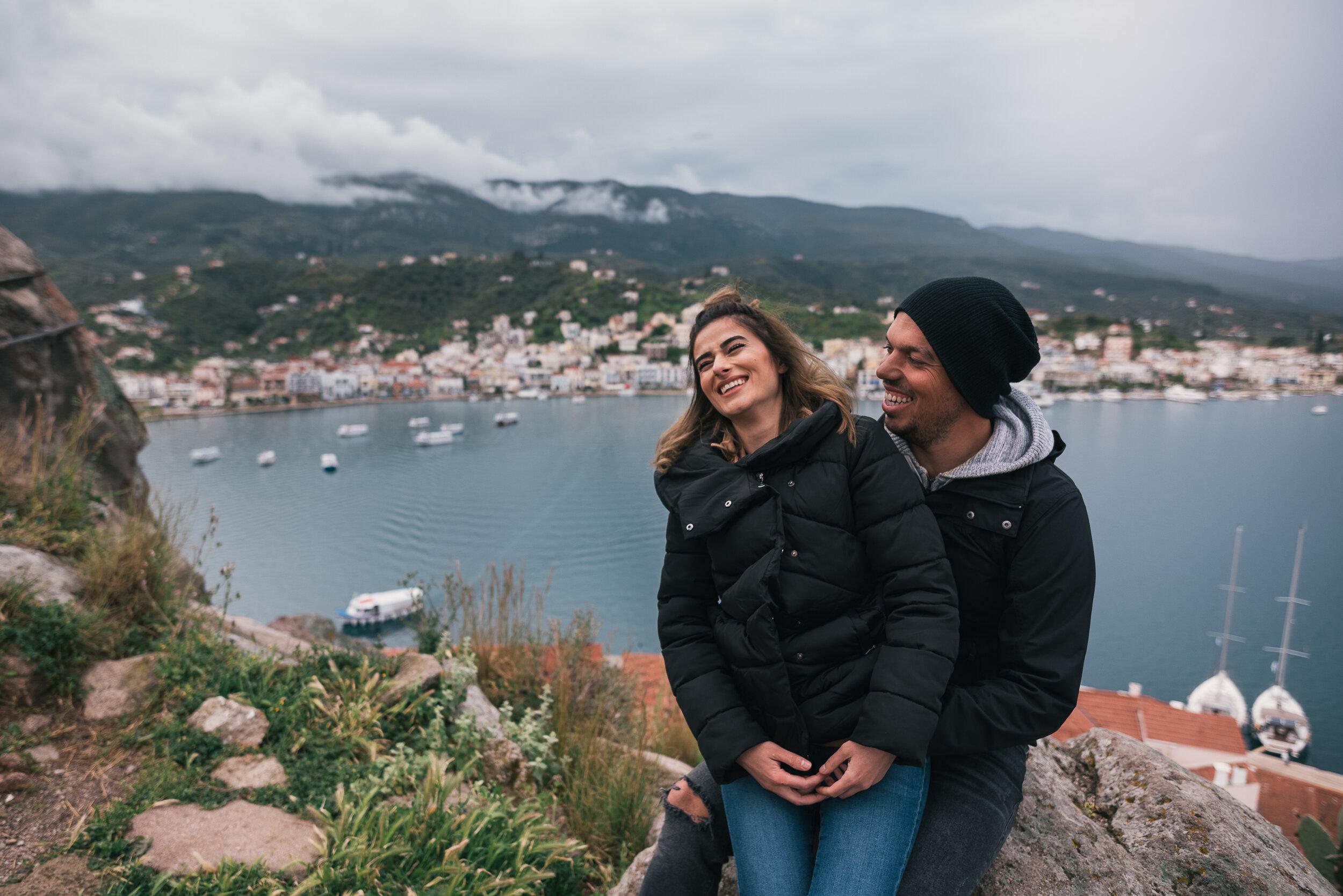 - Poros Island EngagementPhotoshoot, Greece