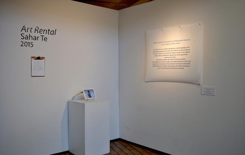 Art Rental,  2015