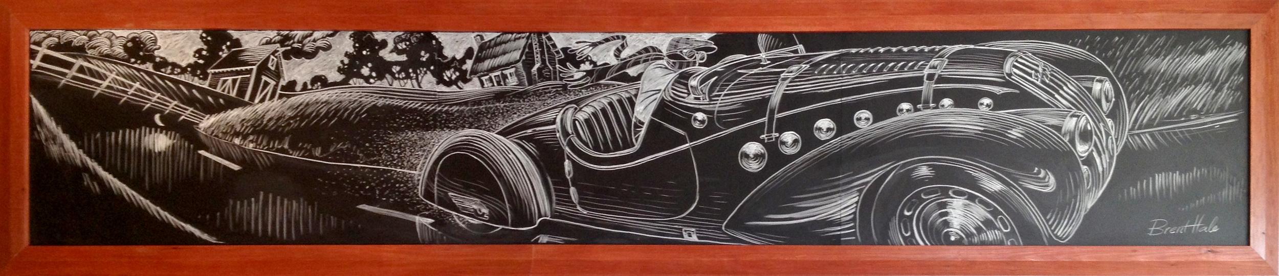 Lark On The Park - 1938 Peugeot 402 Darlmat Pourtout Roadster