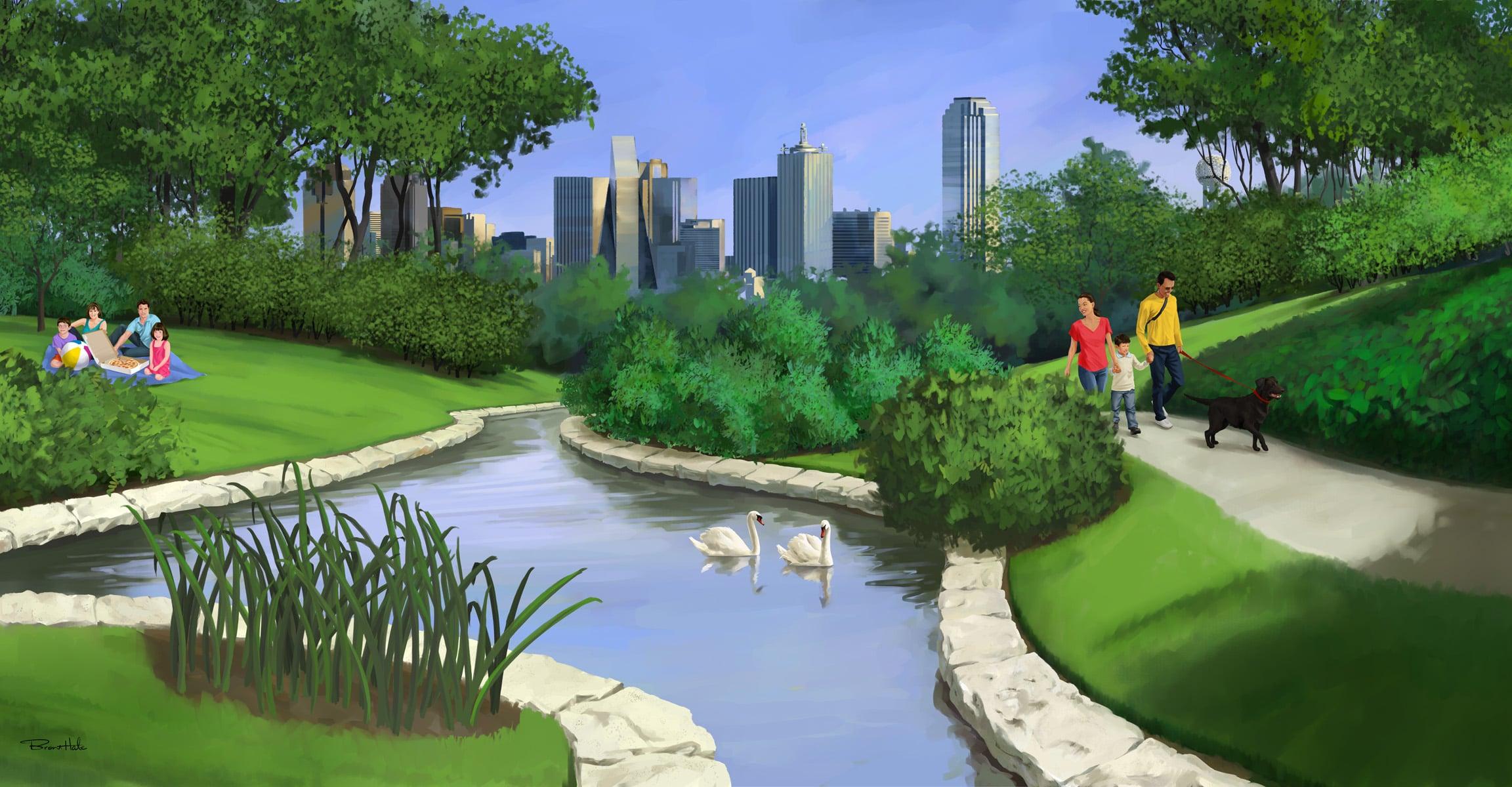 GattiTown Mural Turtle Creek Park