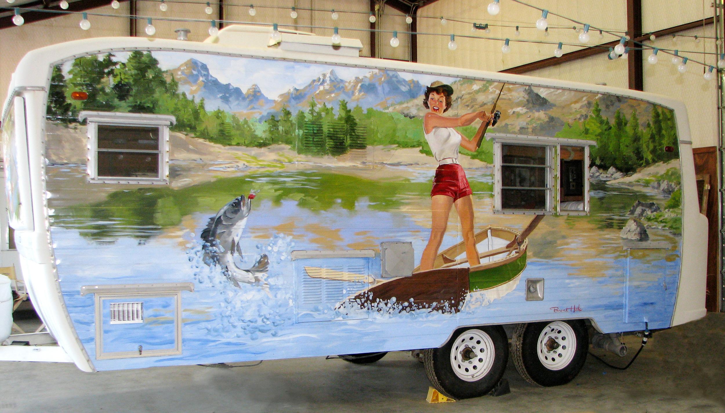 Rowdy Creek Ranch - Pinup Camper