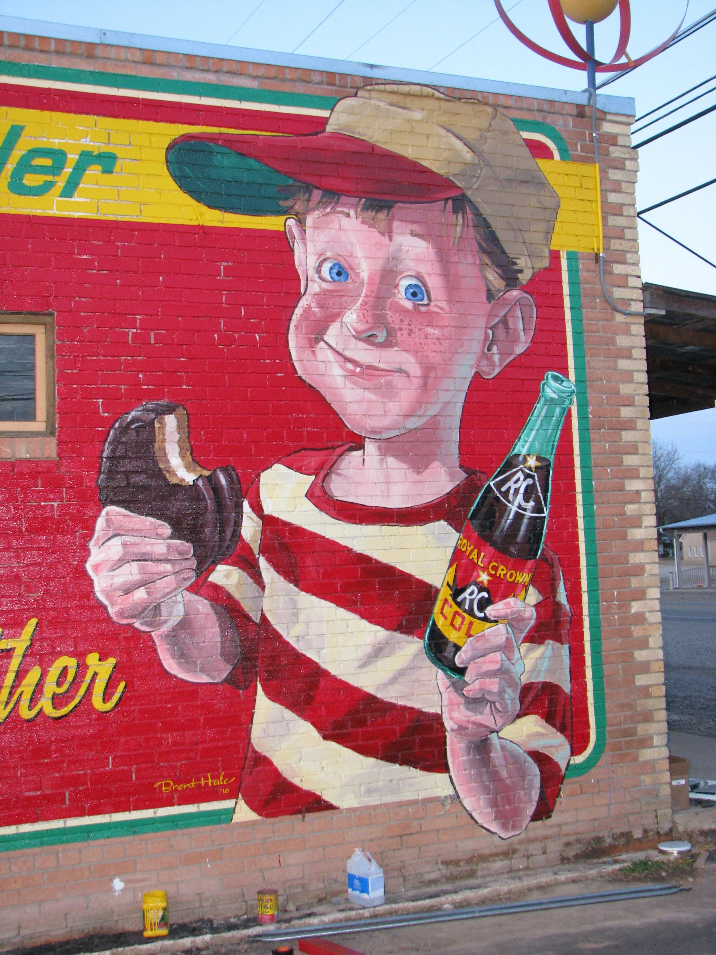 Ben Wheeler, Texas - Moon Pie/RC Cola Detail