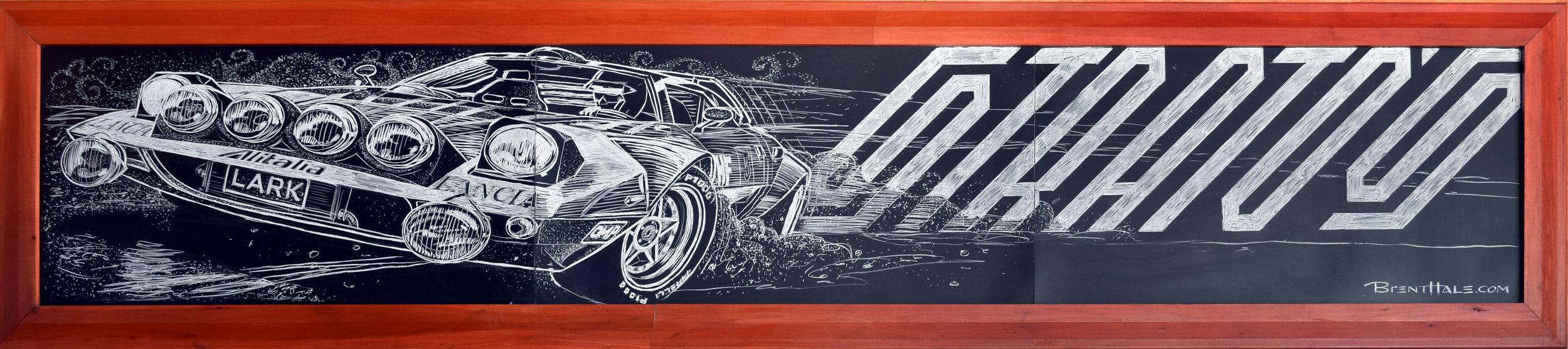 Lark On The Park - Lancia Stratos