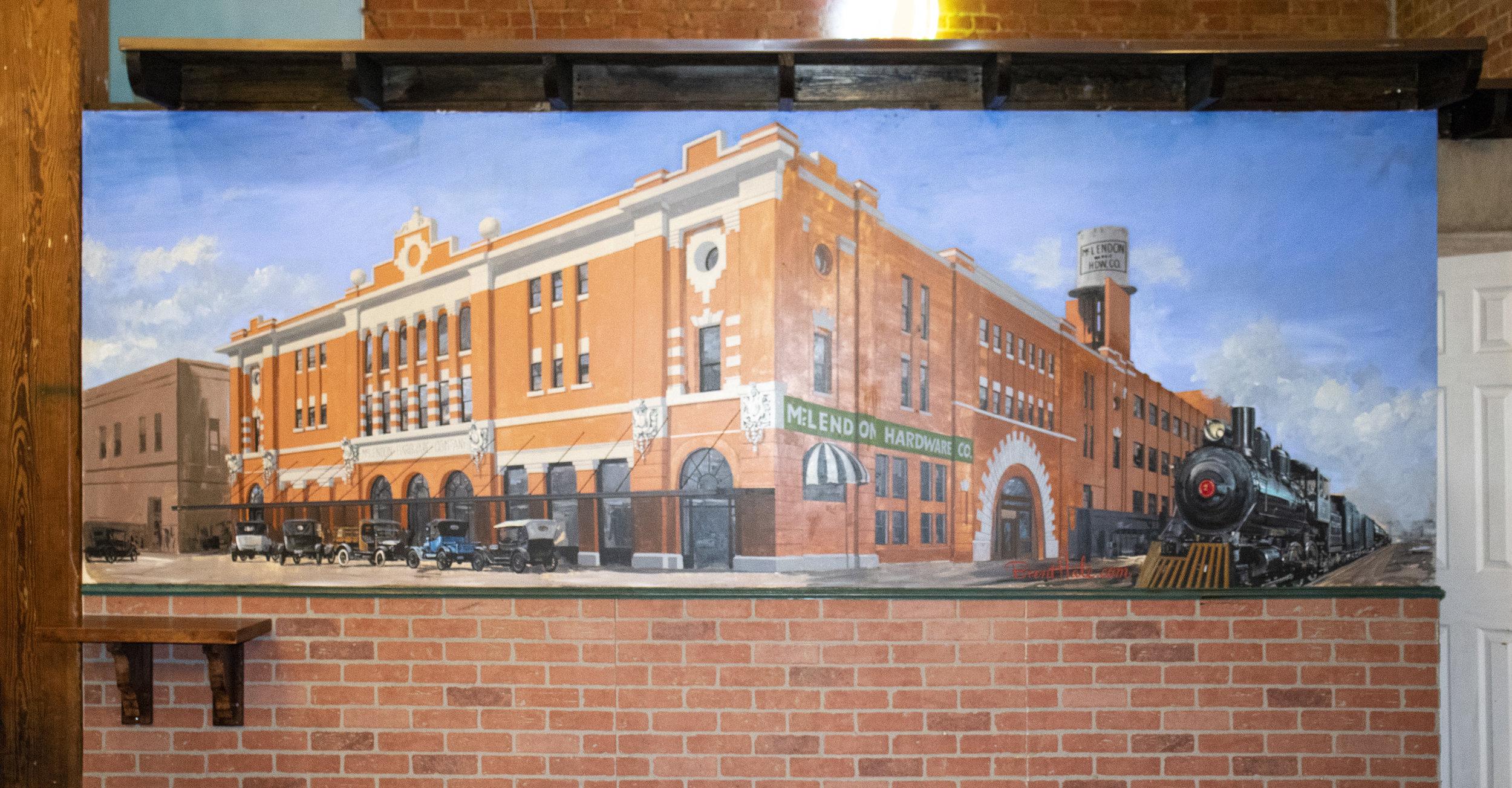 Nina's Restaurant Waco, TX - McLendon Bldg.