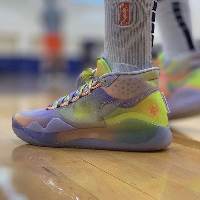 imagine stepping on court with these KD 12s🔥🔥 #GirlsBasketball #2BecauseOfYou #LearnGrowFlourish #BallisLife #GirlsGotGame