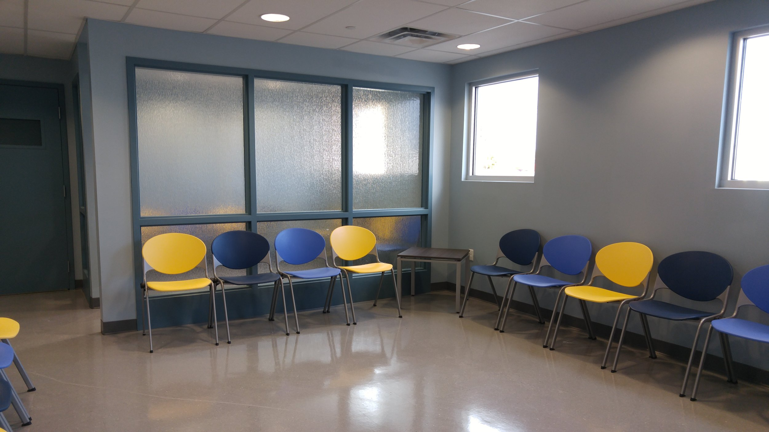 medical office waiting room painting