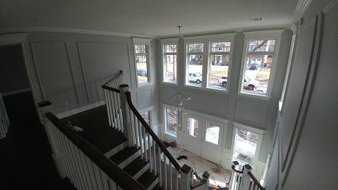interior house painters for high walls