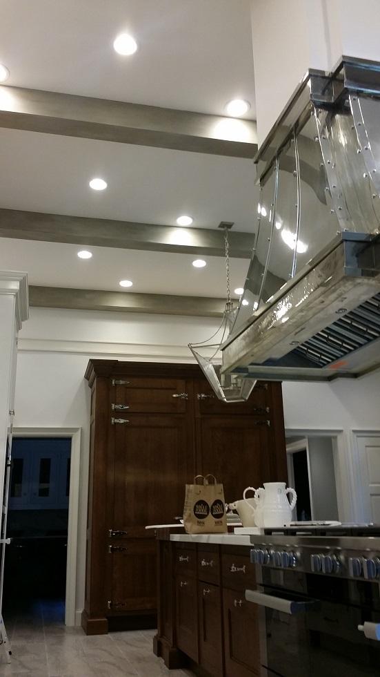 custom kitchen renovation painting