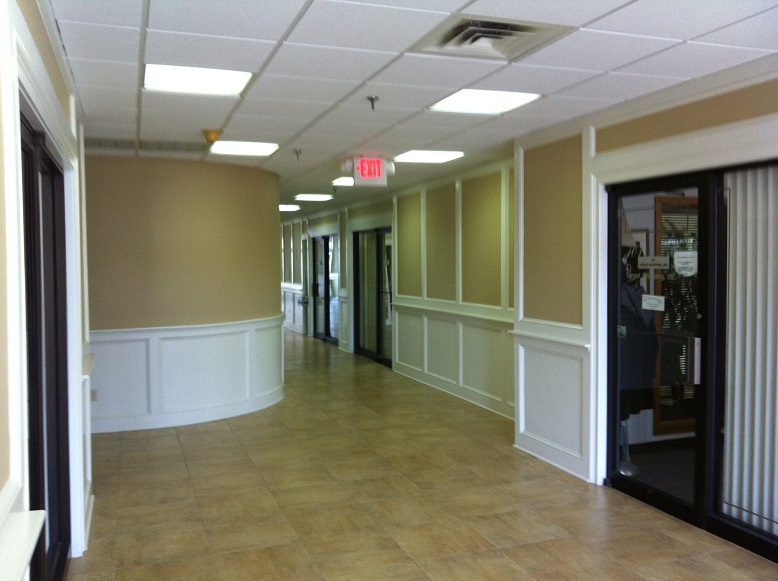 interior office painting and repainting