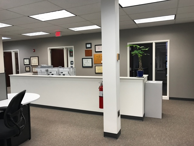 office painters complete accent wall