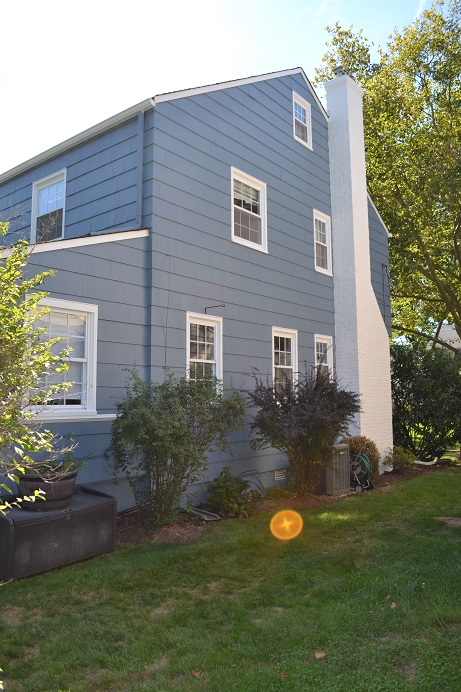 exterior cedar shake wood siding painting by exterior house painters