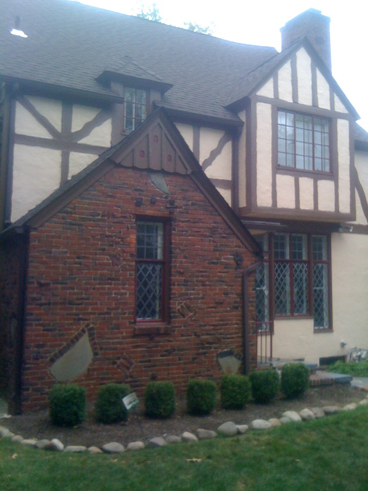 exterior wood painting, exterior wood siding painting, exterior tudor house painting, exterior painters, exterior painting