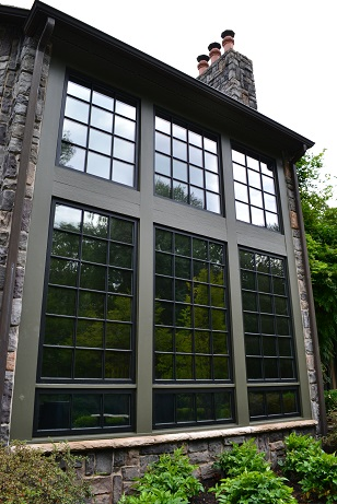 exterior trim and window sash painting by a painting company