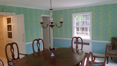 interior paint and wallpaper, farrow and ball paint