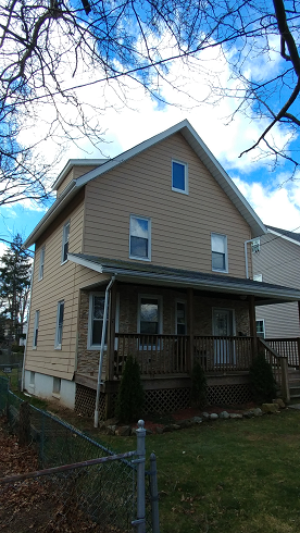 exterior aluminum siding painting by exterior house painters