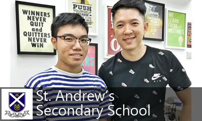 Calvin Kong Physics Tuition - St. Andrew's Secondary School SASS