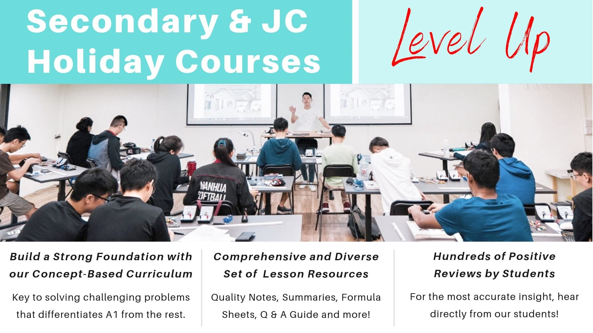 Secondary and JC Physics Tuition