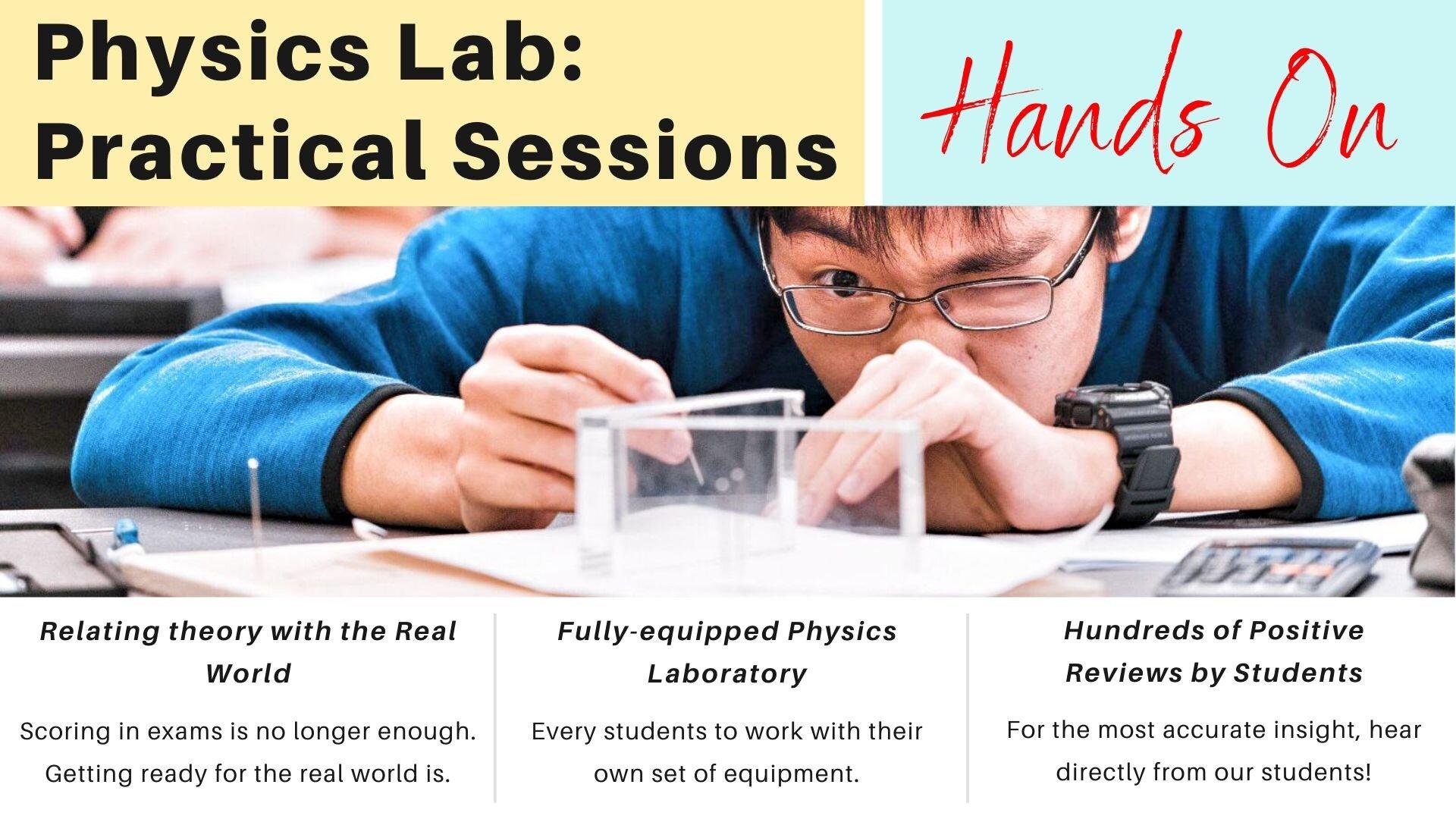 O Level A Level Physics Practical Lab