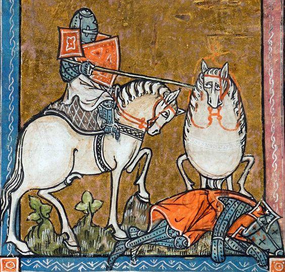 L'estoire del Saint Graal, c. 1316 CE, BL Add 10292 fol. 213r