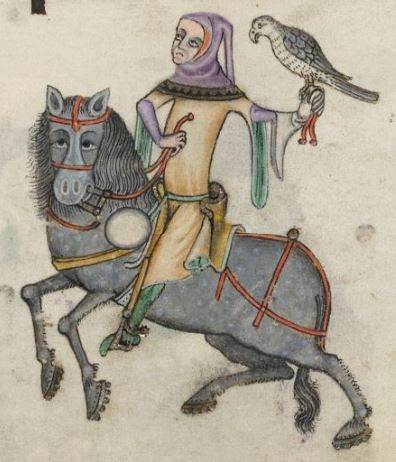 Lutrell Psalter, c. 1325-1340 CE, BL Add MS 42130, fol. 163r