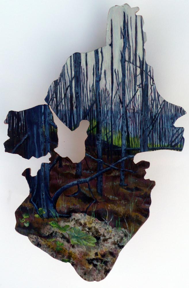 Fire Shape II- Moose Mountain