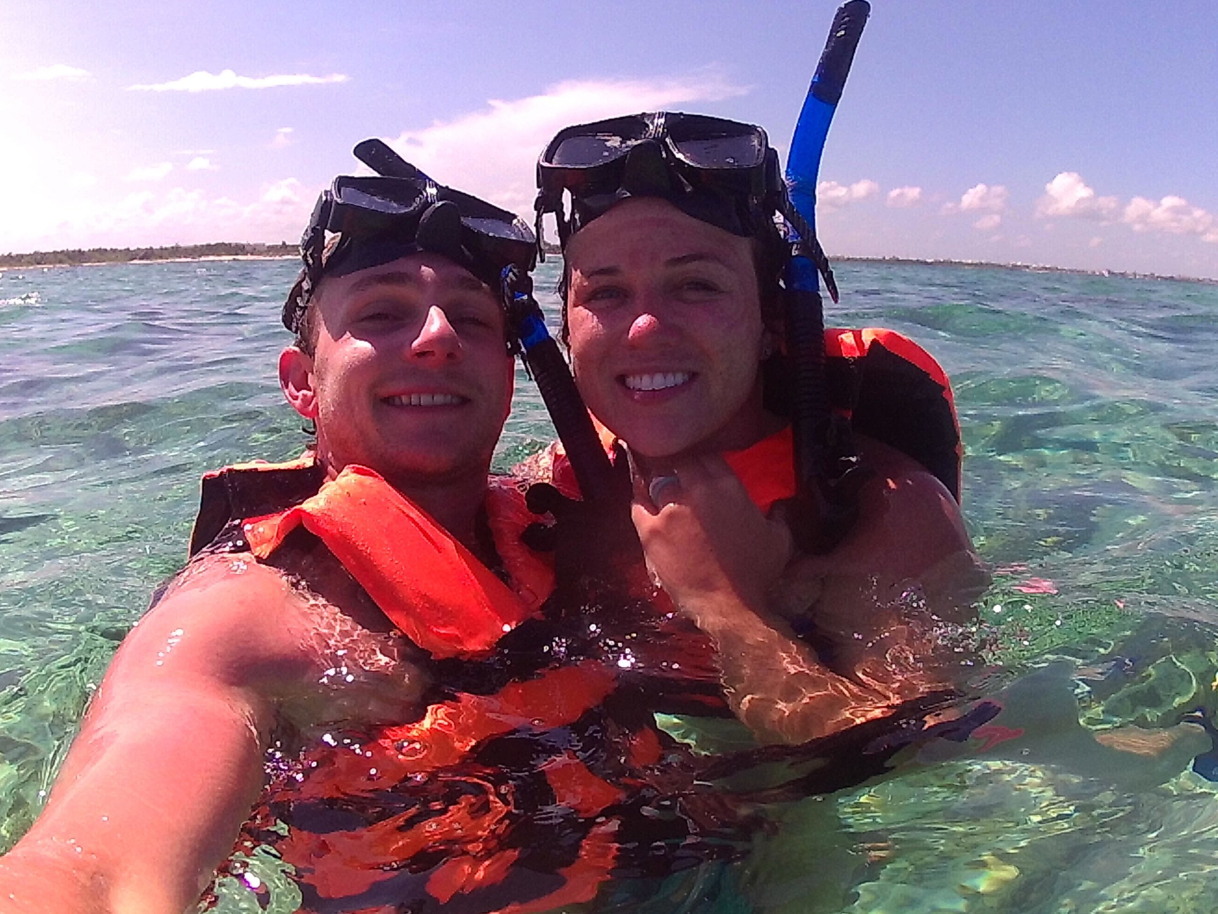 On our last day we went on a snorkeling trup and it was a blast! We saw a ton and enjoyed being out on the water!