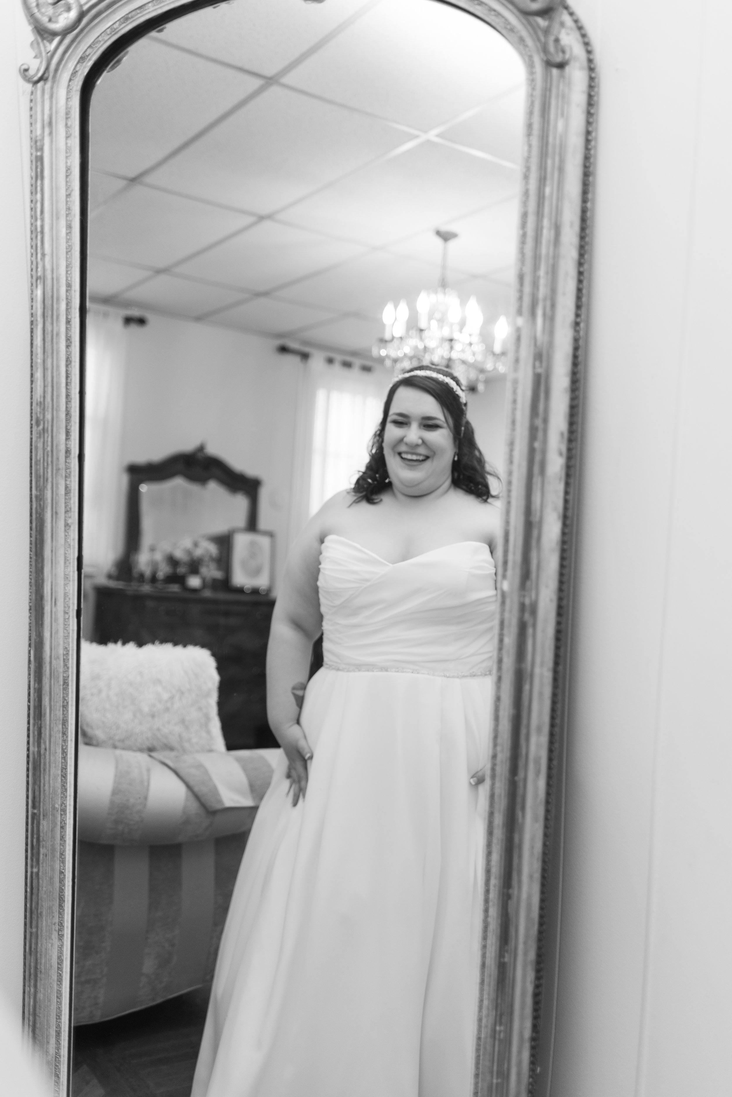I will never forget the joy in Christina's face when she turned around and saw herself in the mirror!!! You are so beautiful girl!