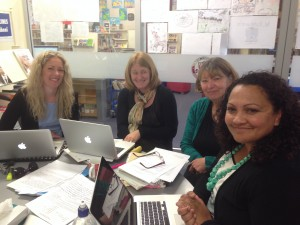 Tools4Teachers working with the Literacy Leaders from Cornwall Park District School